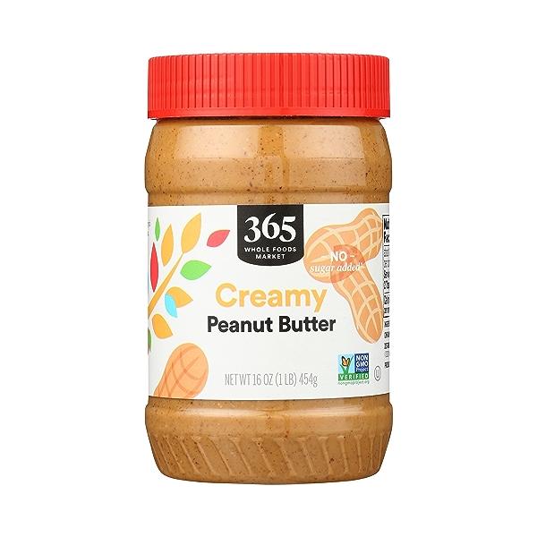 Peanut Butter, Creamy, 16 oz 1