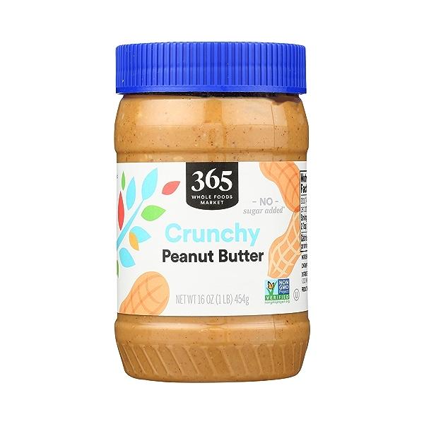 Peanut Butter, Crunchy, 16 oz 1