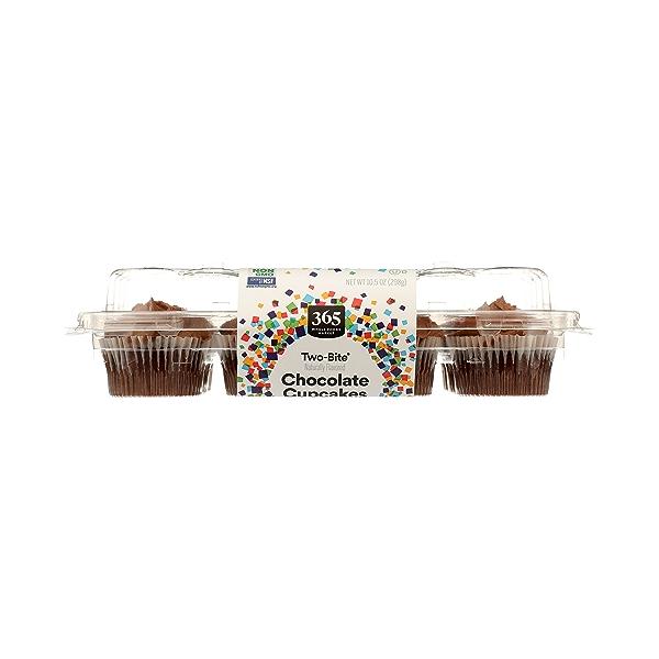 Ready-To-Eat Two-Bite Cupcakes, Chocolate, 10.5 oz 6