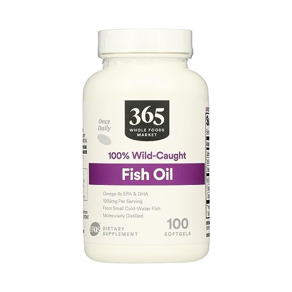 Supplements - EFAs, Fish Oil (100% Wild Caught) 1
