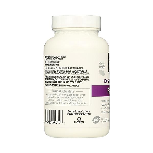 Supplements - EFAs, Fish Oil (100% Wild Caught) 2