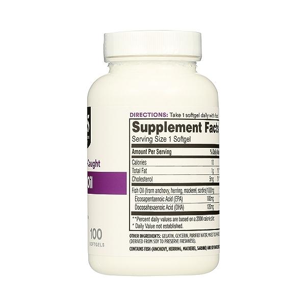 Supplements - EFAs, Fish Oil (100% Wild Caught) 5