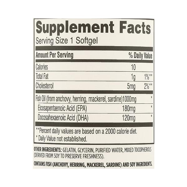 Supplements - EFAs, Fish Oil (100% Wild Caught) 7
