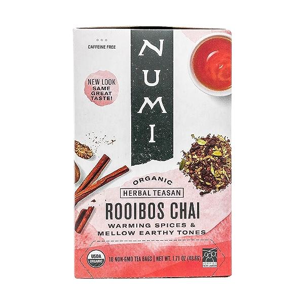 Organic Rooibos Chai Herbal Teasan, 1.71 oz 1