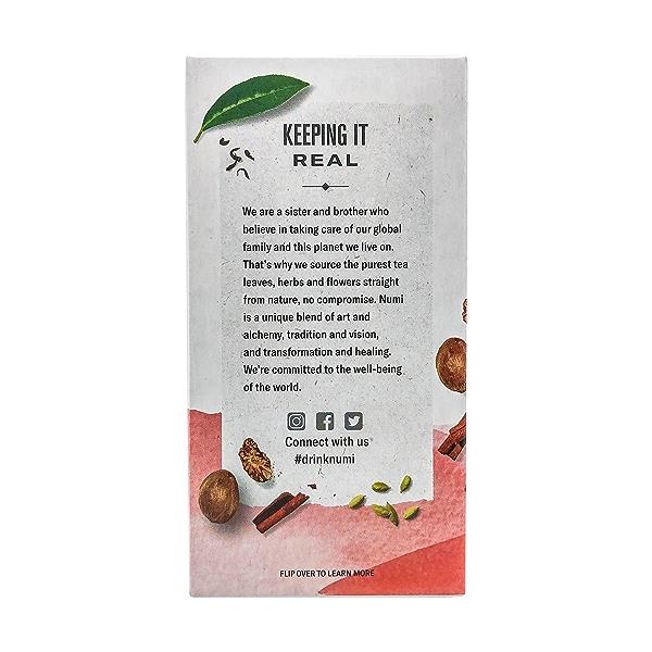 Organic Rooibos Chai Herbal Teasan, 1.71 oz 4