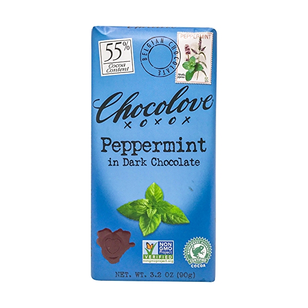 Peppermint In Dark Chocolate, 3.2 oz 1