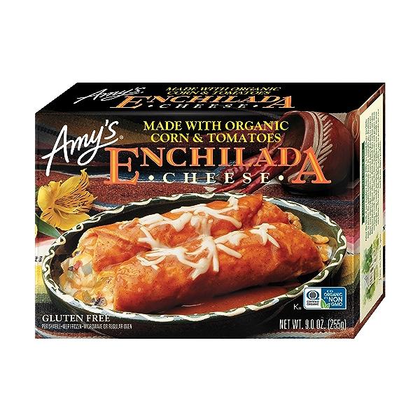 Frozen Entrées, Cheese Enchilada, Gluten free 1