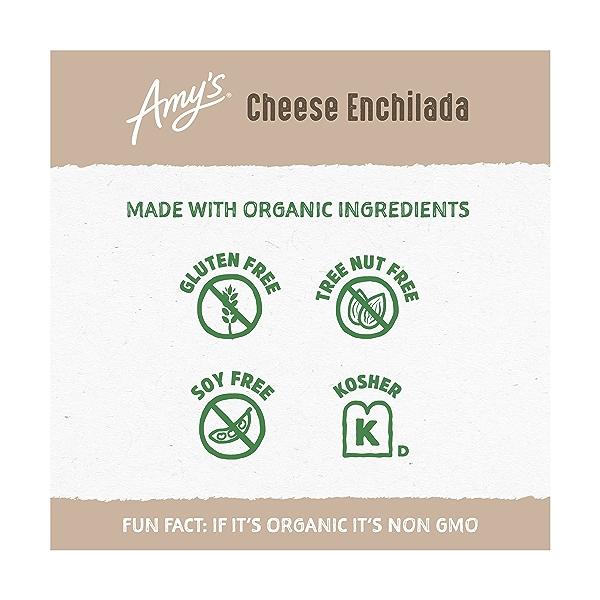 Frozen Entrées, Cheese Enchilada, Gluten free 3
