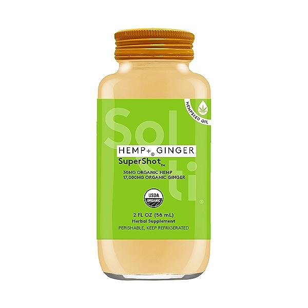 HEMP+™ GINGER SuperShot™, 2 fl oz 1