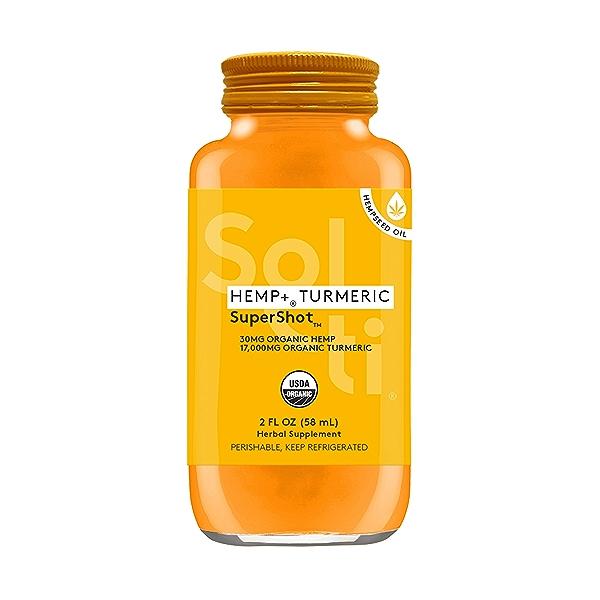 HEMP+™ TURMERIC SuperShot™, 2 fl oz 1