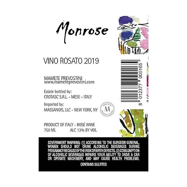 Rosato Monrose, 750 ml 2