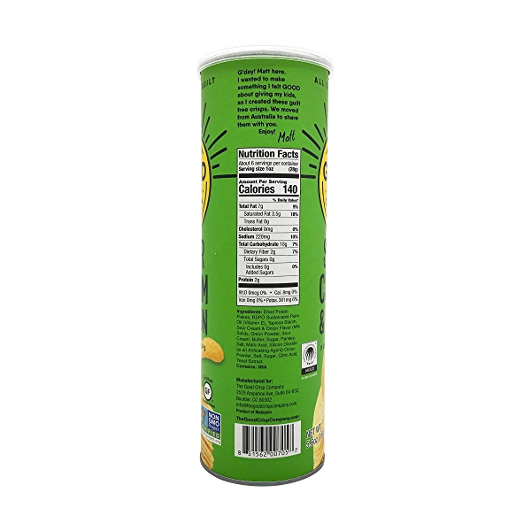 Sour Cream Onion Stacked Chips, 5.6 oz 2