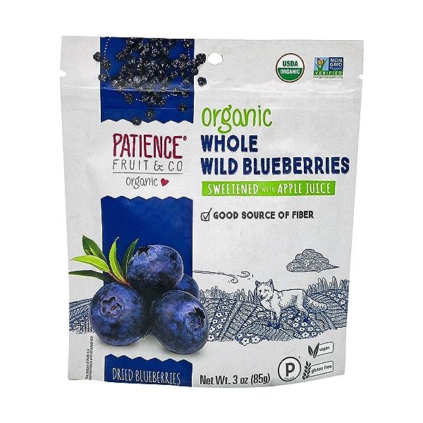 Organic Dried Wild Blueberries, 3 oz 1