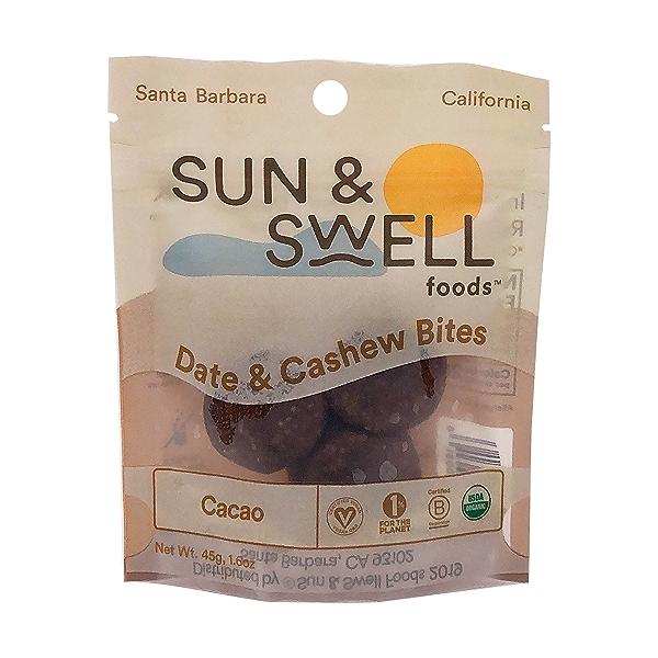 Organic Cacao Fruit & Nut Bites, 1.6 oz 1