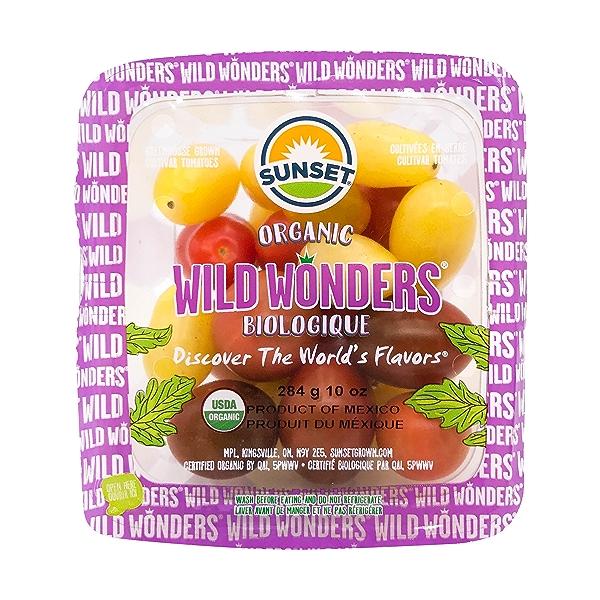 Organic Wild Wonder Tomatoes 1