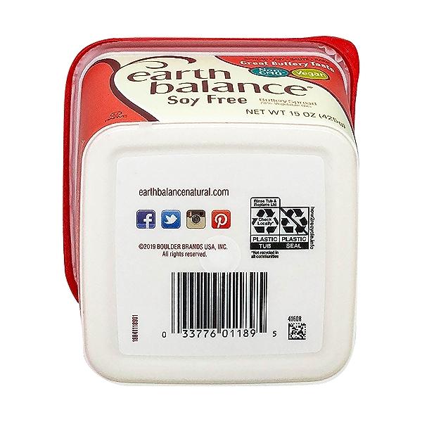 Soy Free Buttery Spread, 15 oz 6
