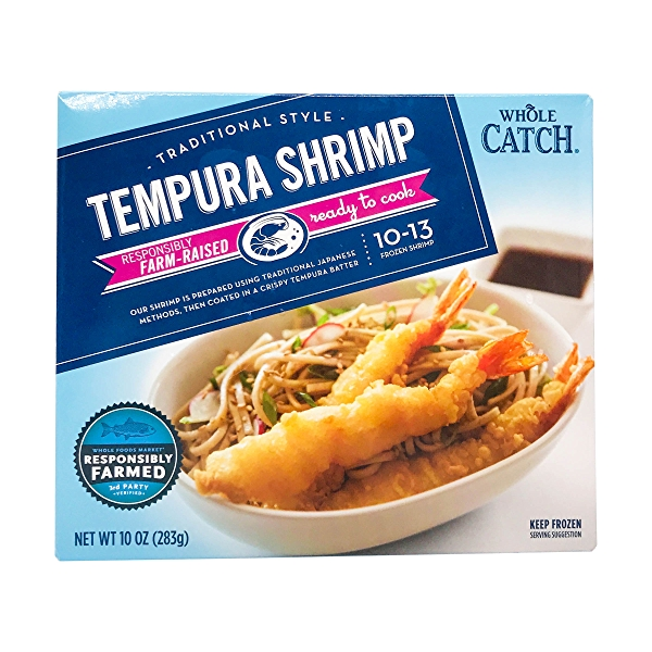 Traditional Style Tempura Shrimp 1