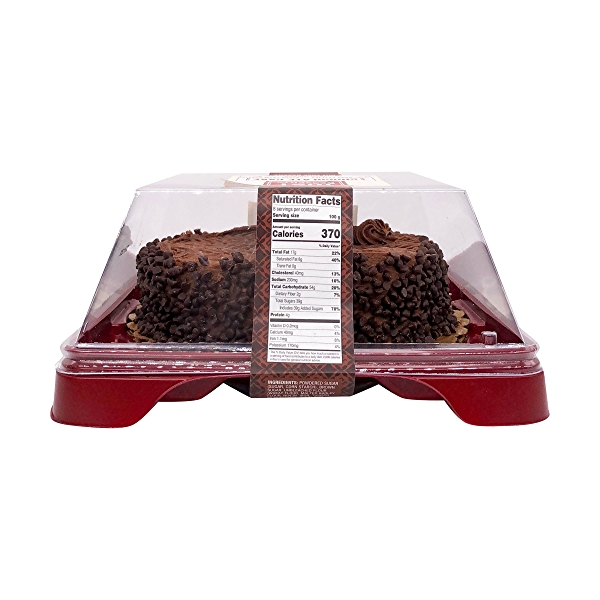 Chocolate Cake Covered With Chocolate Chips, 22 oz 2