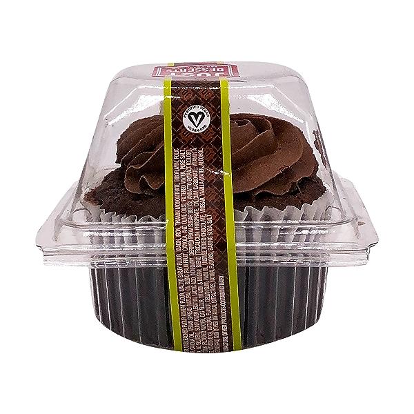 Vegan Midnight Chocolate Cupcake, 4 oz 3