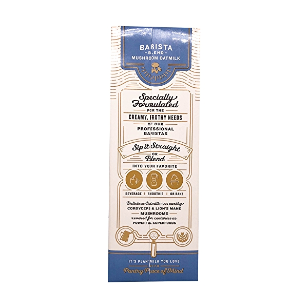 Barista Blend Mushroom Oat Creamer, 32 fl oz 3