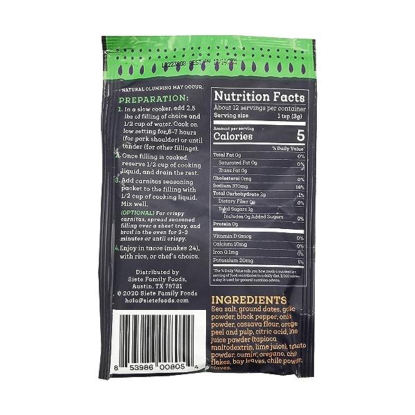 Carnitas Seasoning, 1.29 oz 2