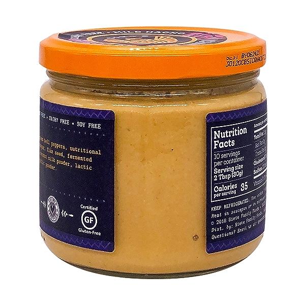 Mild Nacho Cashew Cheese Dip, 10.8 oz 4