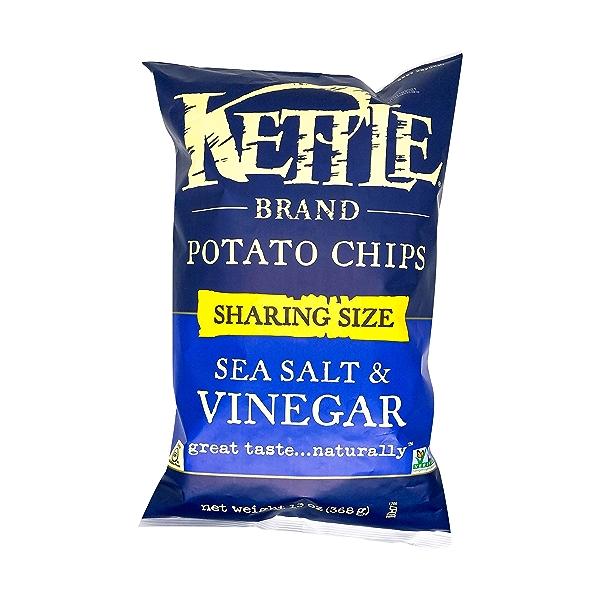 Sea Salt & Vinegar Potato Chips, 13 oz 1