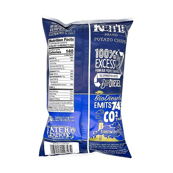 Sea Salt & Vinegar Potato Chips, 13 oz 2