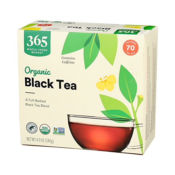 Organic Black Tea, 4.9 oz 4