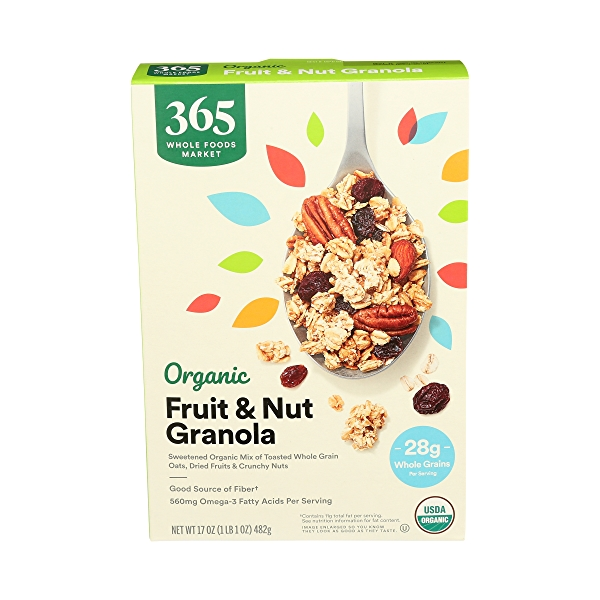 Organic Fruit & Nut Granola, 17 oz 1