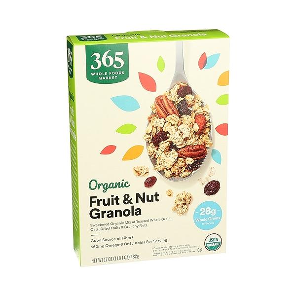 Organic Fruit & Nut Granola, 17 oz 2