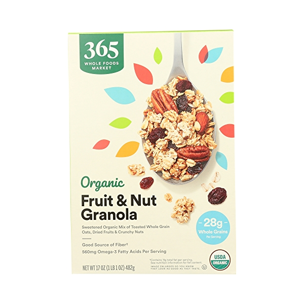 Organic Fruit & Nut Granola, 17 oz 3