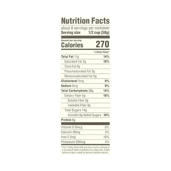 Organic Fruit & Nut Granola, 17 oz 10