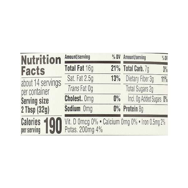 Organic Creamy Peanut Butter (Unsweetened & No Salt), 16 oz 10