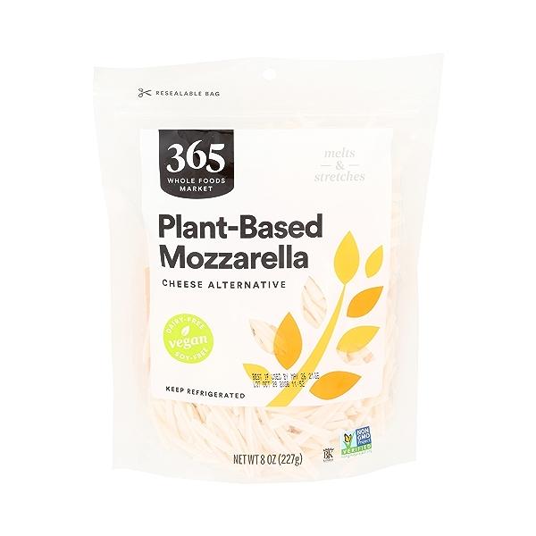 Non-dairy Mozzarella Cheese Shreds 1