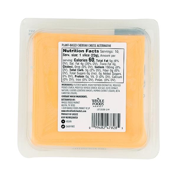 Non-dairy Cheddar Slices, 8 oz 7