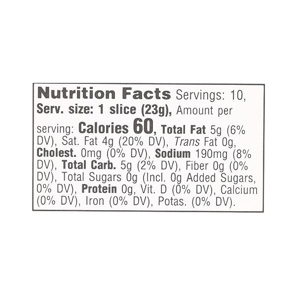 Non-dairy Cheddar Slices, 8 oz 10
