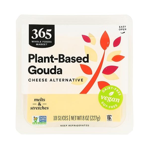 Non-dairy Gouda Cheese Slices, 8 oz 1