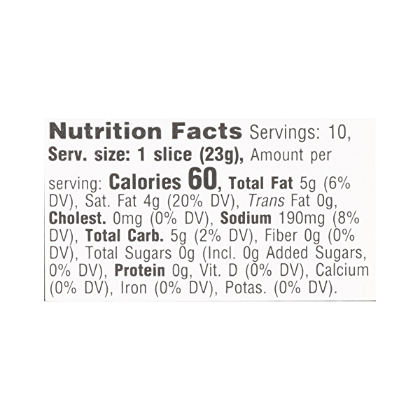 Non-dairy Gouda Cheese Slices, 8 oz 10