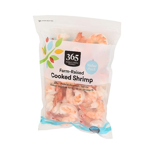 Cp Shrimp Farm Raised Cooked Tail On 16 20 Fl Oz 4