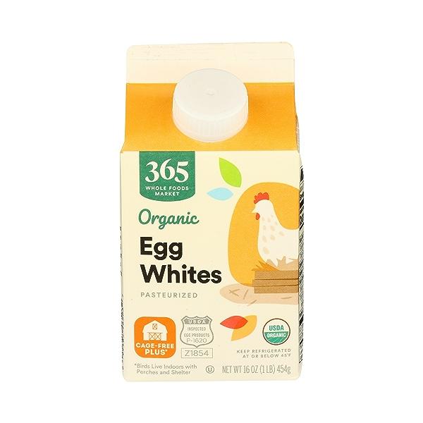 Organic Cage Free Liquid Egg Whites, 16 oz 1