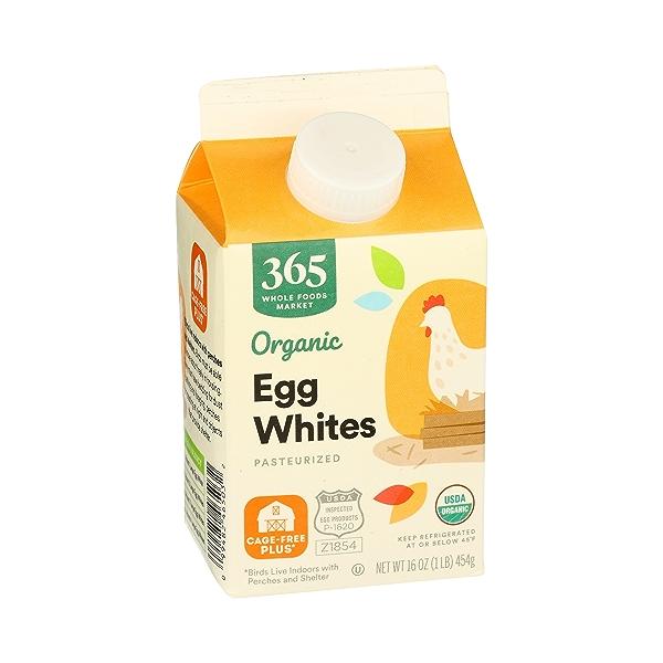 Organic Cage Free Liquid Egg Whites, 16 oz 2