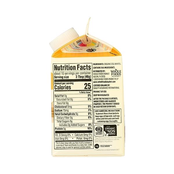 Organic Cage Free Liquid Egg Whites, 16 oz 8