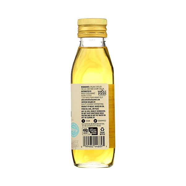 Sesame Seed Oil, 8.4 fl oz 8