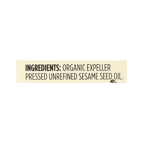 Sesame Seed Oil, 8.4 fl oz 12