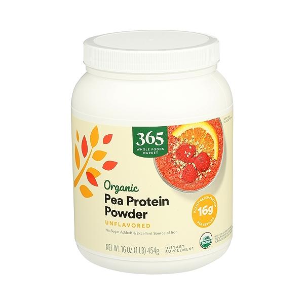 Organic Pea Protein, 16 oz 2