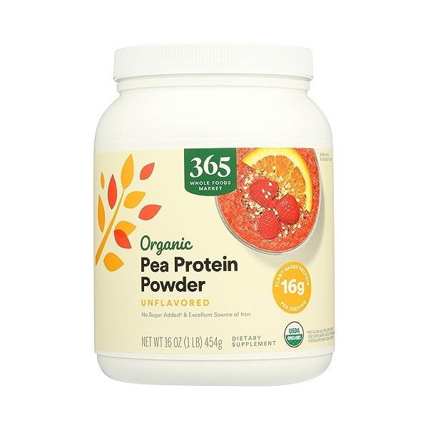 Organic Pea Protein, 16 oz 1