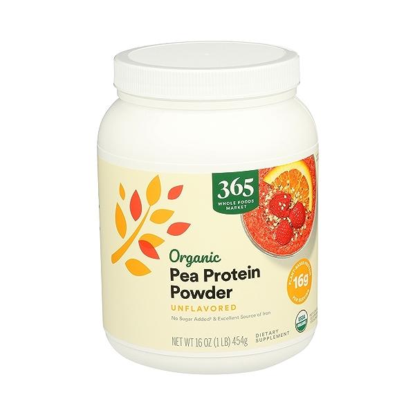 Organic Pea Protein, 16 oz 3