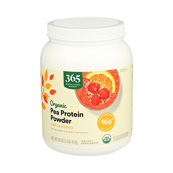 Organic Pea Protein, 16 oz 5