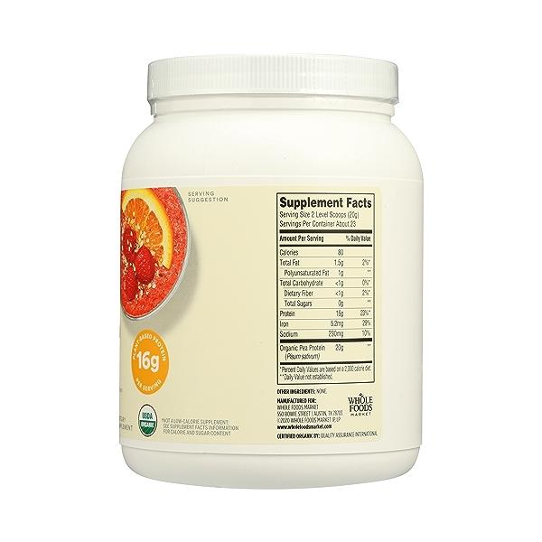 Organic Pea Protein, 16 oz 9
